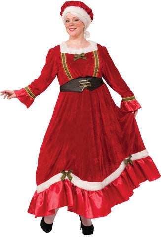 MRS. CLAUS COSTUME ADULT  PLUS SIZE