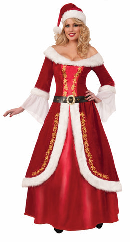MRS. CLAUS COSTUME ADULT UP TO 14/16
