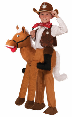 RIDE A HORSE COSTUME CHILD UP TO SIZE 10