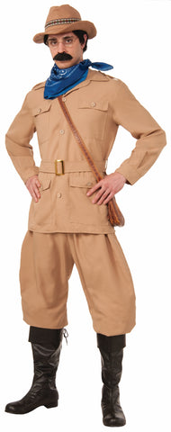 THEODORE ROOSEVELT COSTUM ADULT  X-LARGE  48 CHEST