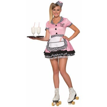 TRIXIE SUE 50'S DINER GIRL COSTUME