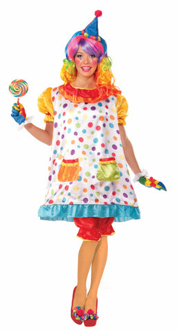 WIGGLES THE CLOWN COSTUME ADULT