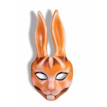 Plastic Bunny Mask with Elastic Band