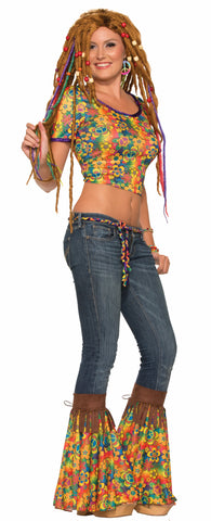 HIPPIE ADD-A-BELLS ADULT SIZE  1PR/PKG