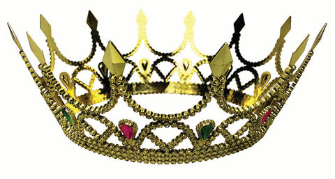 Gold Royal Queen Crown