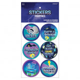 BATTLE ROYAL STICKERS 24CT