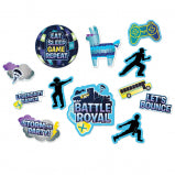 BATTLE ROYAL CUTOUTS  12CT