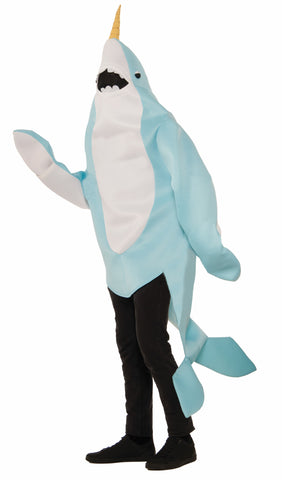 PLUSH NARWHAL COSTUME