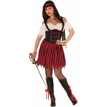 SALTY SALLY ADULT PIRATE COSTUME