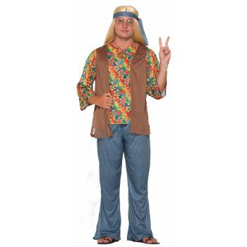 HIPPIE DUDE ADULT STANDARD