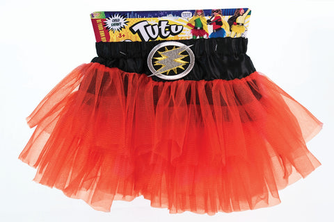 CHILD HERO RED TUTU CHILD SIZE