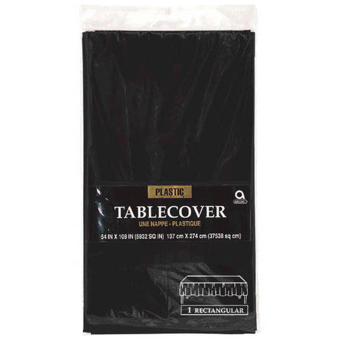 TABLECOVER - JET BLACK