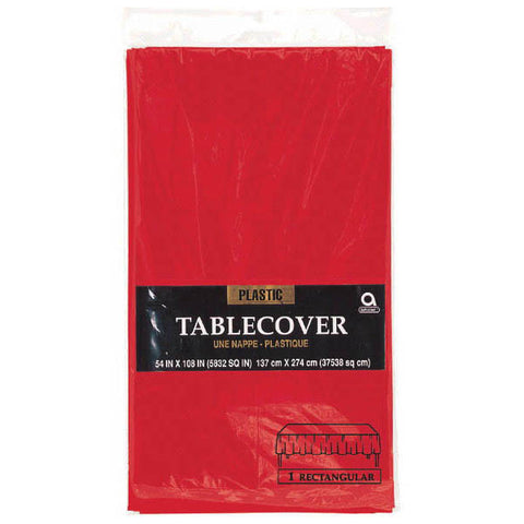 TABLECOVER - APPLE RED