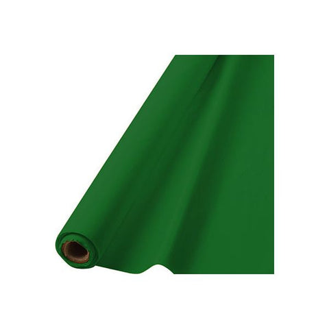 GREEN TABLECOVER 100'
