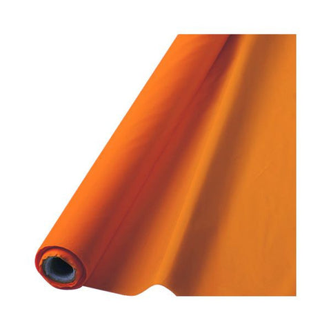 ORANGE TABLECOVER   100'