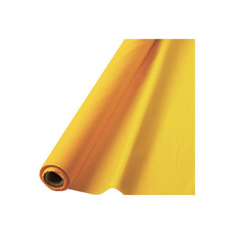 YELLOW TABLECOVER   100'