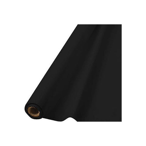 BLACK TABLECOVER   100'