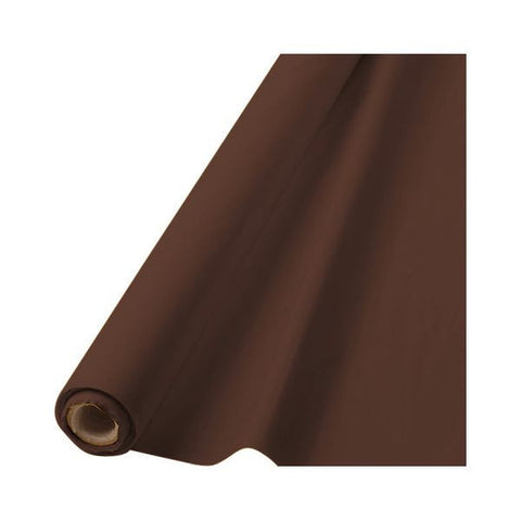 BROWN TABLECOVER   100'