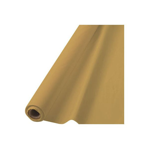 GOLD TABLECOVER     100'