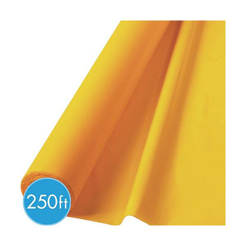 YELLOW TABLECOVER  250'