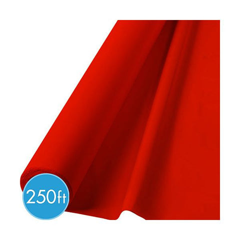 RED TABLECOVER    250'