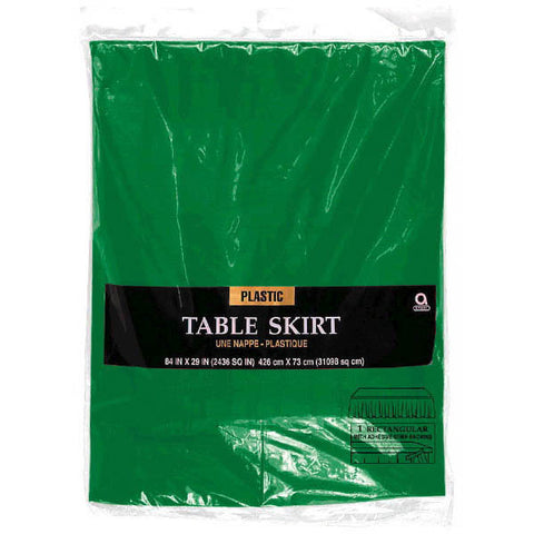 TABLESKIRT - KELLY GREEN