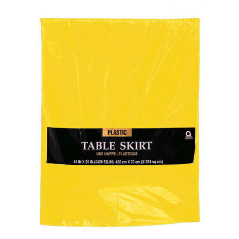 TABLESKIRT - YELLOW SUNSH