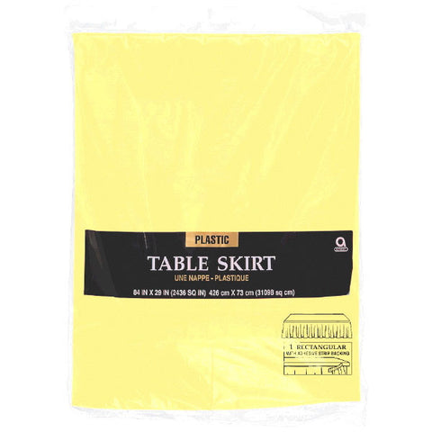 TABLESKIRT - LIGHT YELLOW