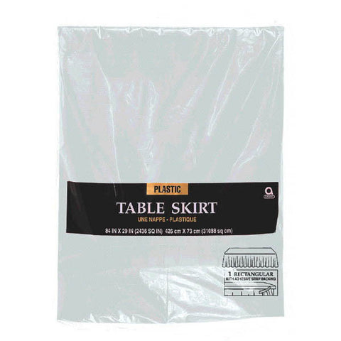 TABLESKIRT - SILVER