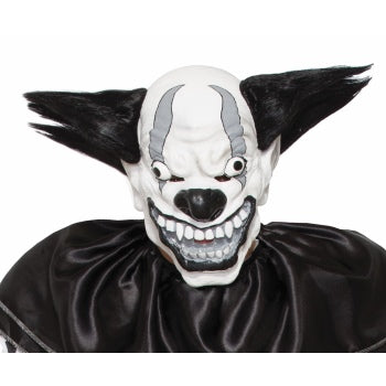 EVIL CLOWN MASK - BEZERK - B/W
