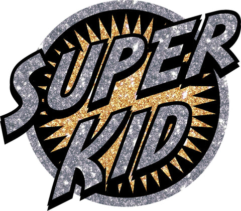 HERO HEAT TRANSFER SUPER KID   1PC/PKG