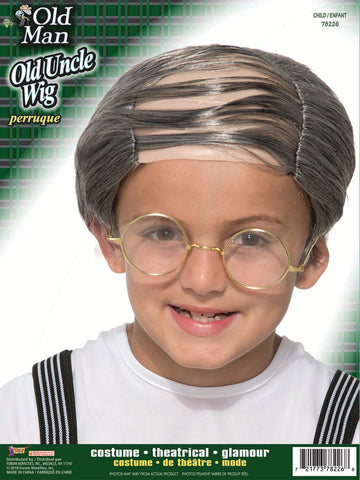 Uncle Bert Wig - Child Size
