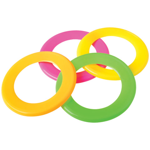 SKIMMER RINGS  12 PC ASST COLORS 7""