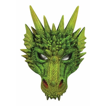 DRAGON HALF MASK - GREEN