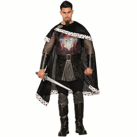 Dark Royalty Evil King - Adult Costume