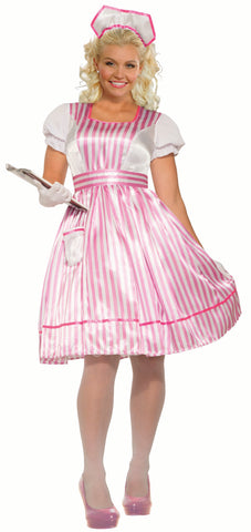 Classic Candy Striper - Adult Plus Costume