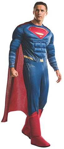DELUXE SUPERMAN COSTUME - ADULT