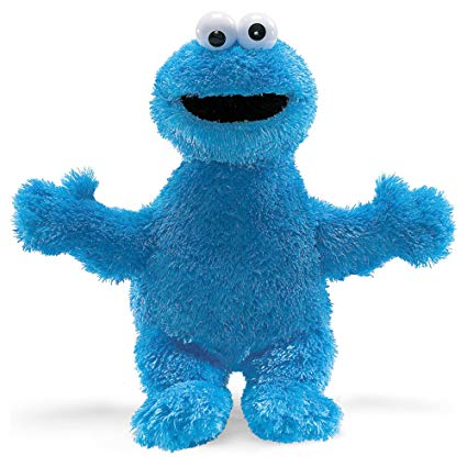 "COOKIE MONSTER 20"" PLUSH"