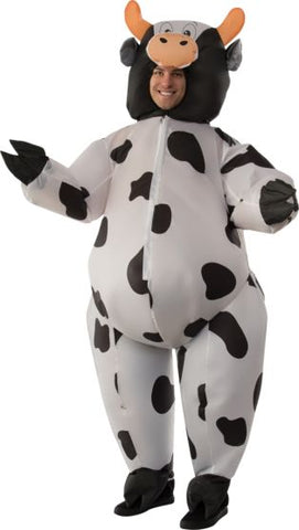 INFLATABLE COW COSTUME - ADULT