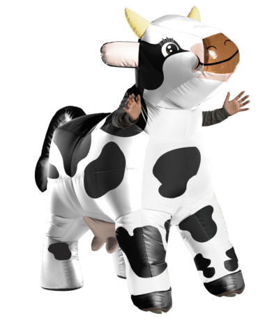 INFLATABLE MOO MOO THE COW COSTUME - ADULT