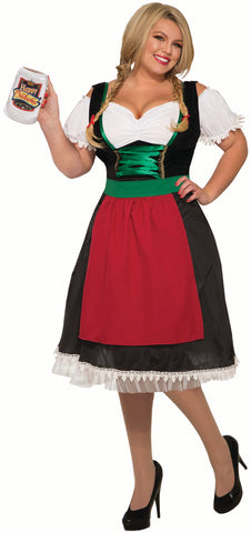 GERMAN FRAULEIN COSTUME - ADULT PLUS SIZE