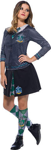 HARRY POTTER SLYTHERIN COSTUME TOP - ADULT