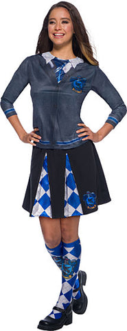 HARRY POTTER RAVENCLAW COSTUME TOP - ADULT