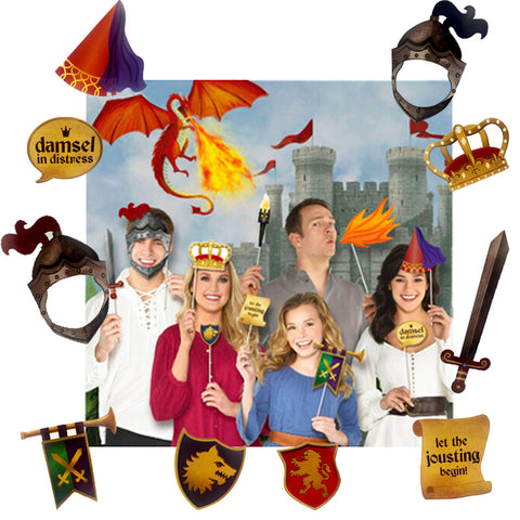 MEDIEVAL PHOTO PROP KIT