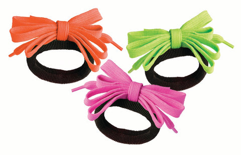 80's Shoelace Hair Ties