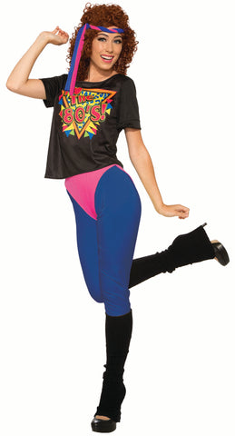 80's Workout Diva - Adult Costume