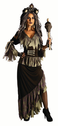 Wicked Witchy Voodoo Doctor - Adult Costume