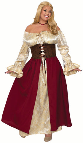 Medieval Wench - Plus Costume
