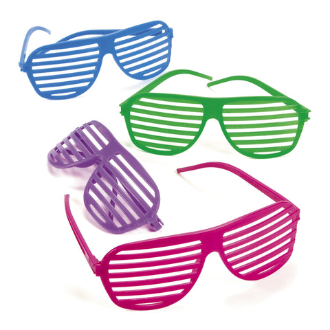 SUNGLASSES - SHUTTER SHADE ASST COLORS   12 CT