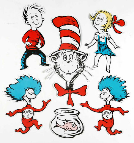 DR SEUSS GIANT CHARACTER DECO KIT